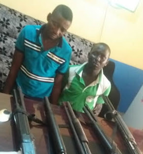 armed robbers arrested sagamu