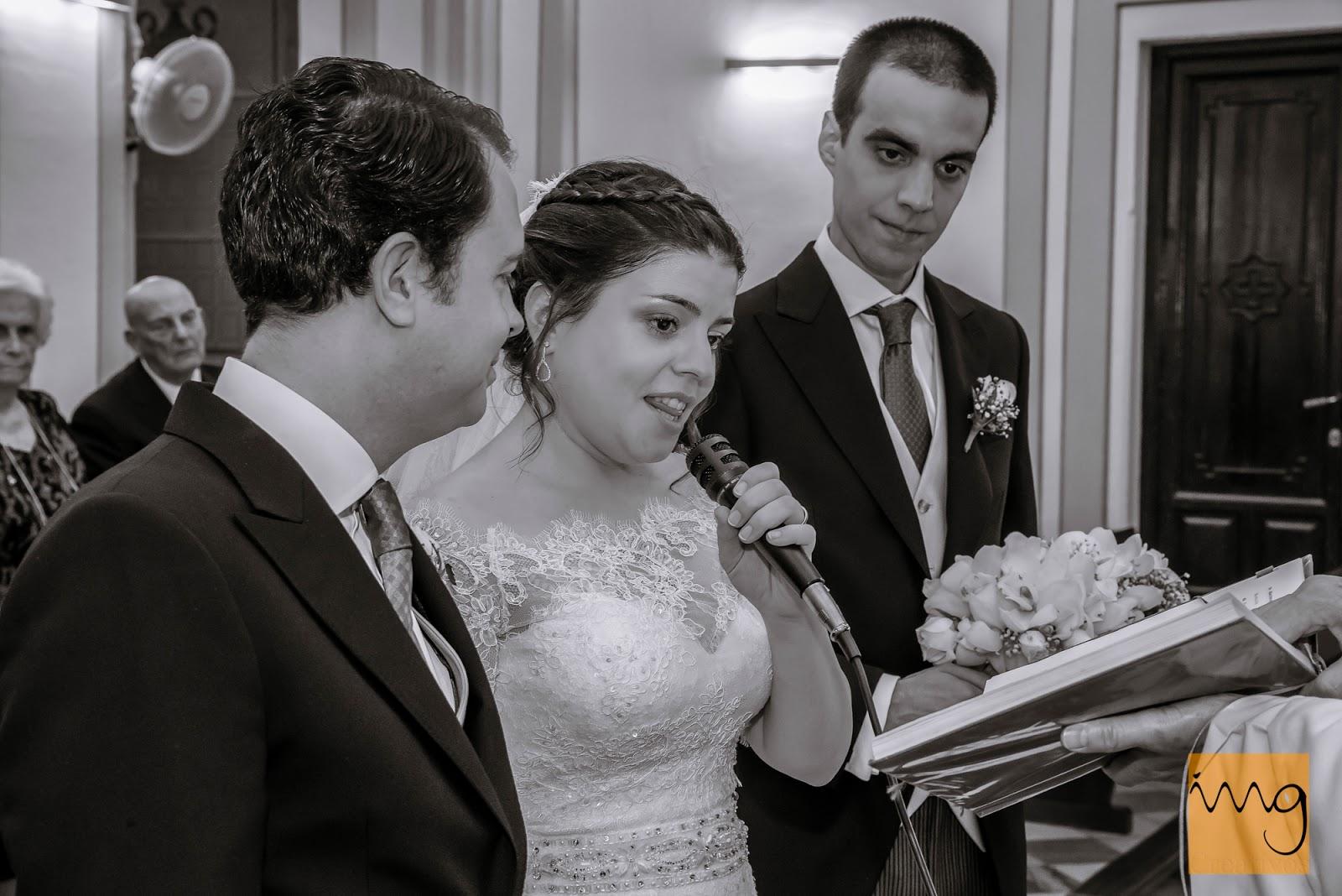 Fotografía de boda, los votos de la novia