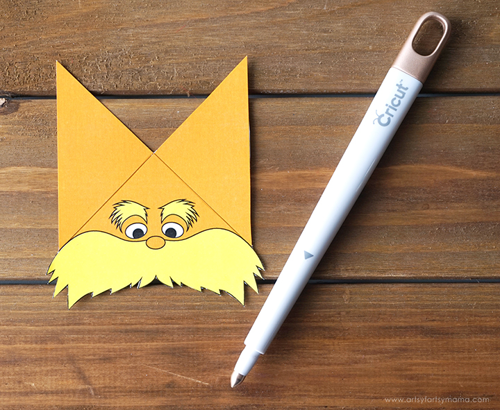 Celebrate Dr Seuss' birthday with Free Printable Lorax Corner Bookmarks!