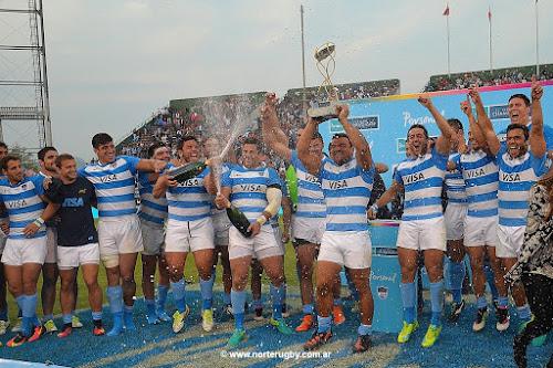 Victoria de Los Pumas ante Sudáfrica en Salta #PumasEnSalta