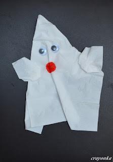 duch z chusteczki higienicznej