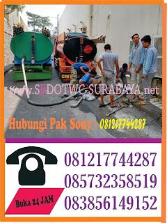Sedot WC Medokan Semampir Surabaya Murah