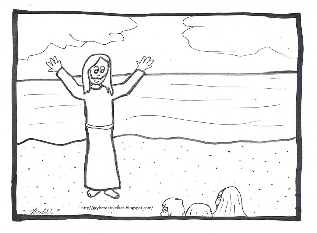 raychill's world the luminous mysteries~coloring pages