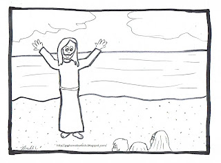 Ray-Chill's World: The Luminous Mysteries~Coloring Pages