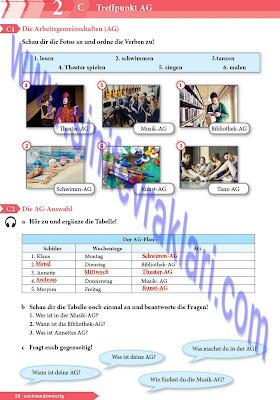 9. Sınıf Almanca A1.1 Ders Kitabı Cevapları Sayfa 26