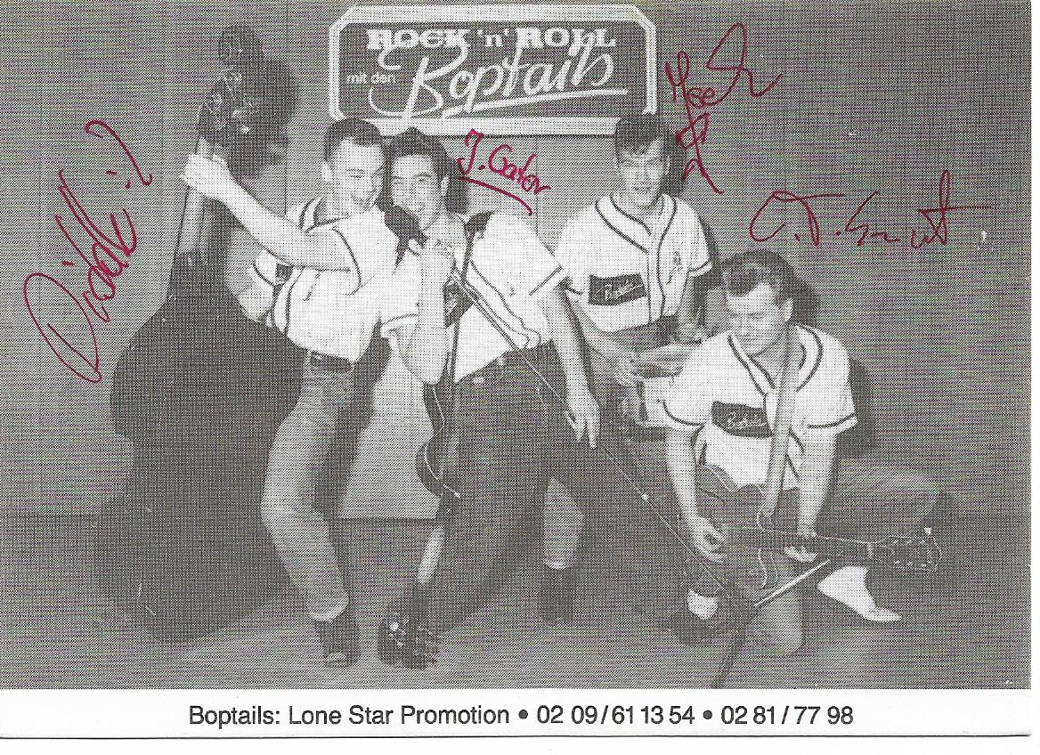 RickyRockabillyArchives: Bands N°122 - The Boptails - Germany