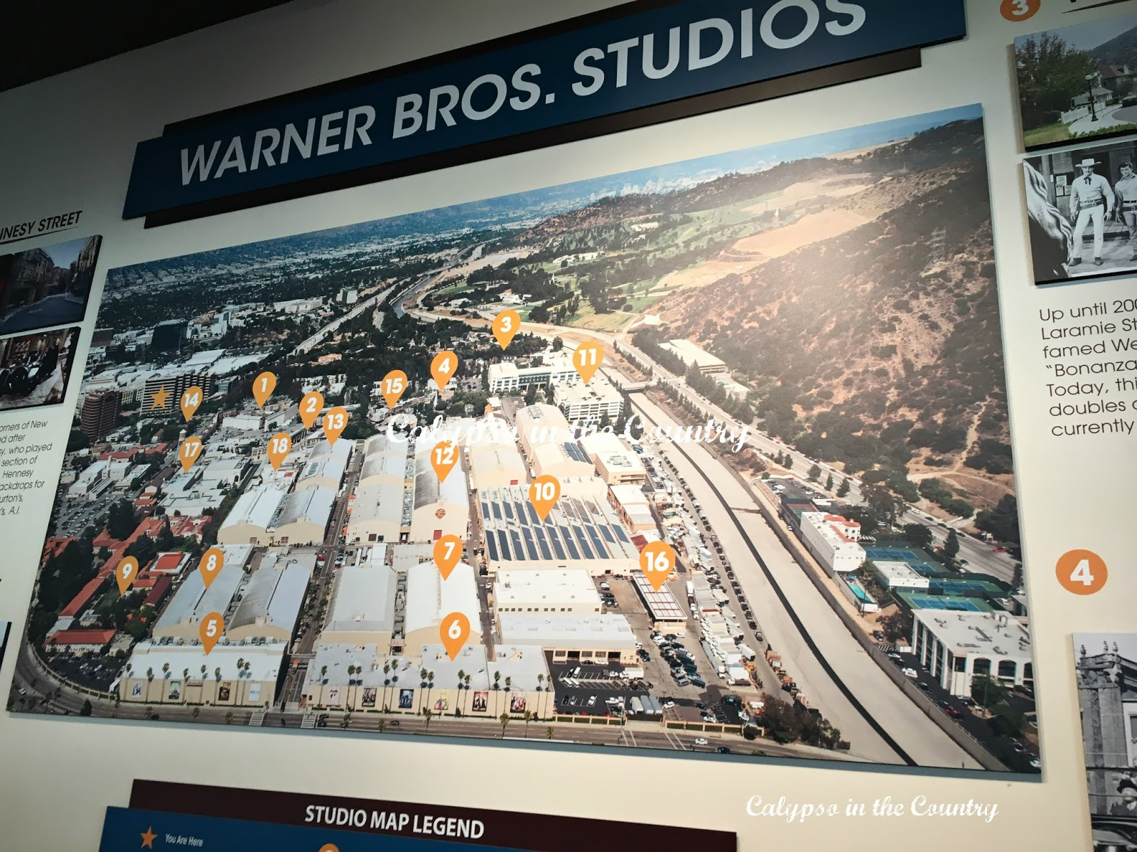 WB Studios - a must see in LA
