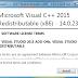 Microsoft Visual C++ 2015 14.0.23026