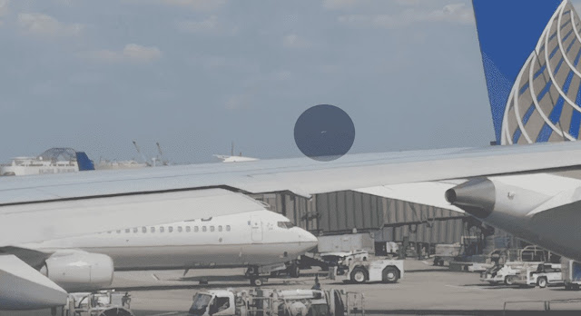 UFO Sighting 2019 - UFO Newark International Airport