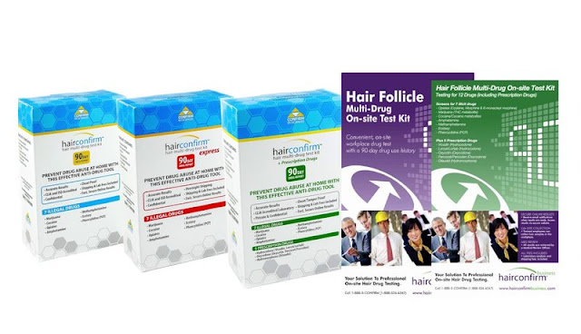 HairConfirm 12-Panel Hair Drug Test