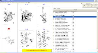 Daewoo spare parts catalog