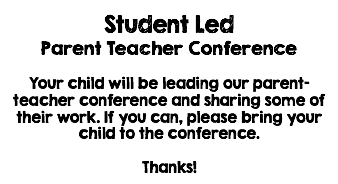 Let's Learn Together: Let Kids Share with Student Led