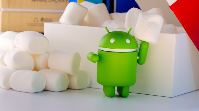 Wallpaper: Android Figurine