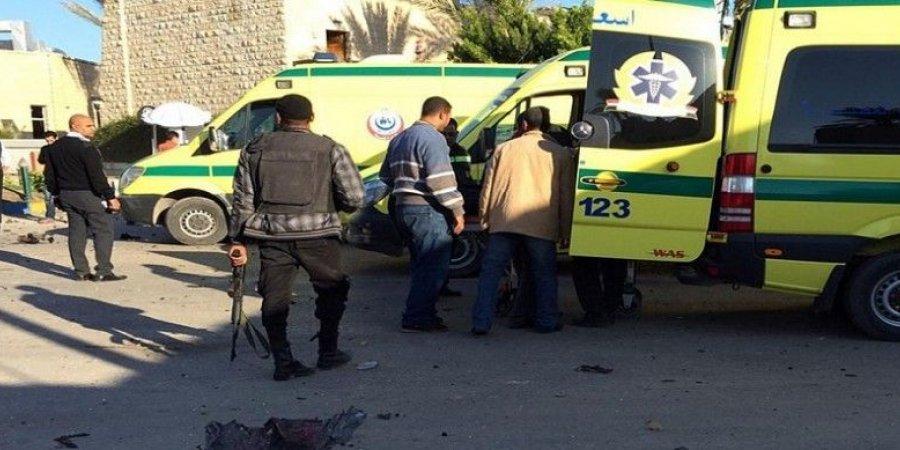 أسماء ضحايا الهجوم الإرهابي على كمين الشرطة بالعريش