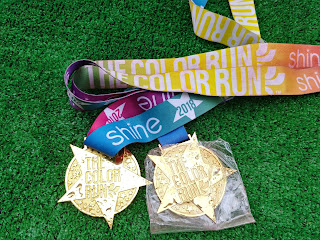 Medal The Color Run Warszawa 2018