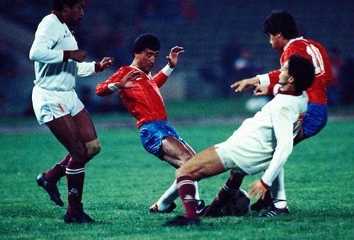 Venezuela y Chile en Copa América 1987, 30 de junio