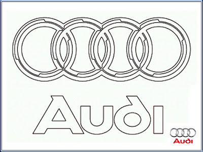 Audi Logo Coloring Pages Printable