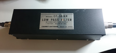 OH2DD Low Pass Filter CF-50MR