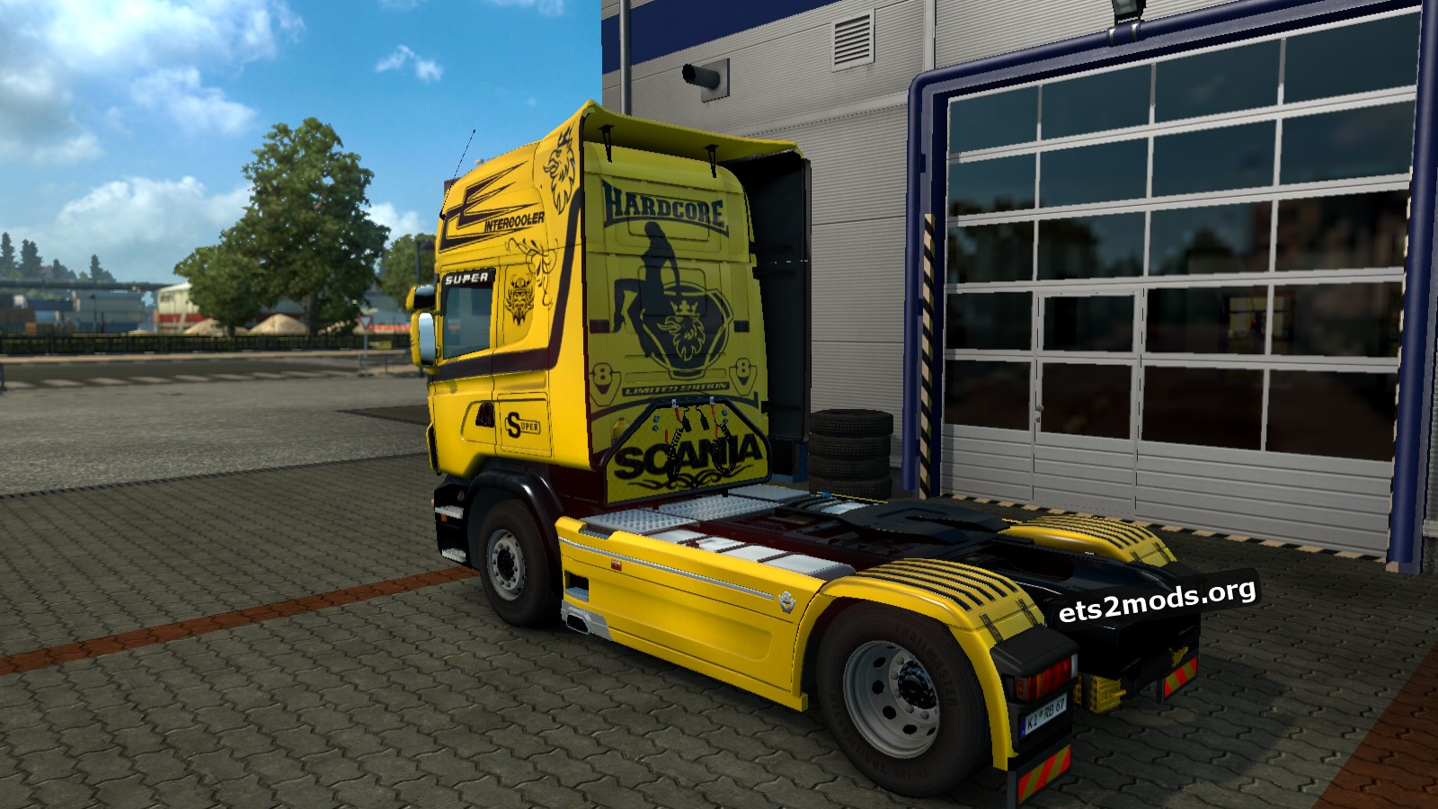 Yellow Queen Skin for Scania RJL