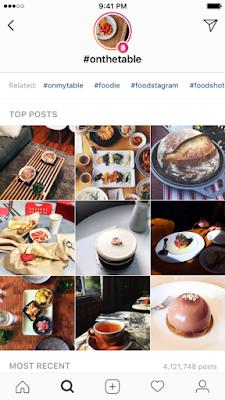 hashtag story instagram