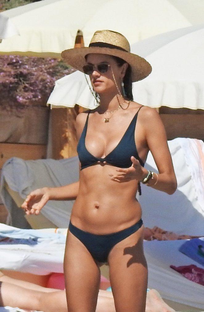 Alessandra Ambrosio Hot Bikini Stills