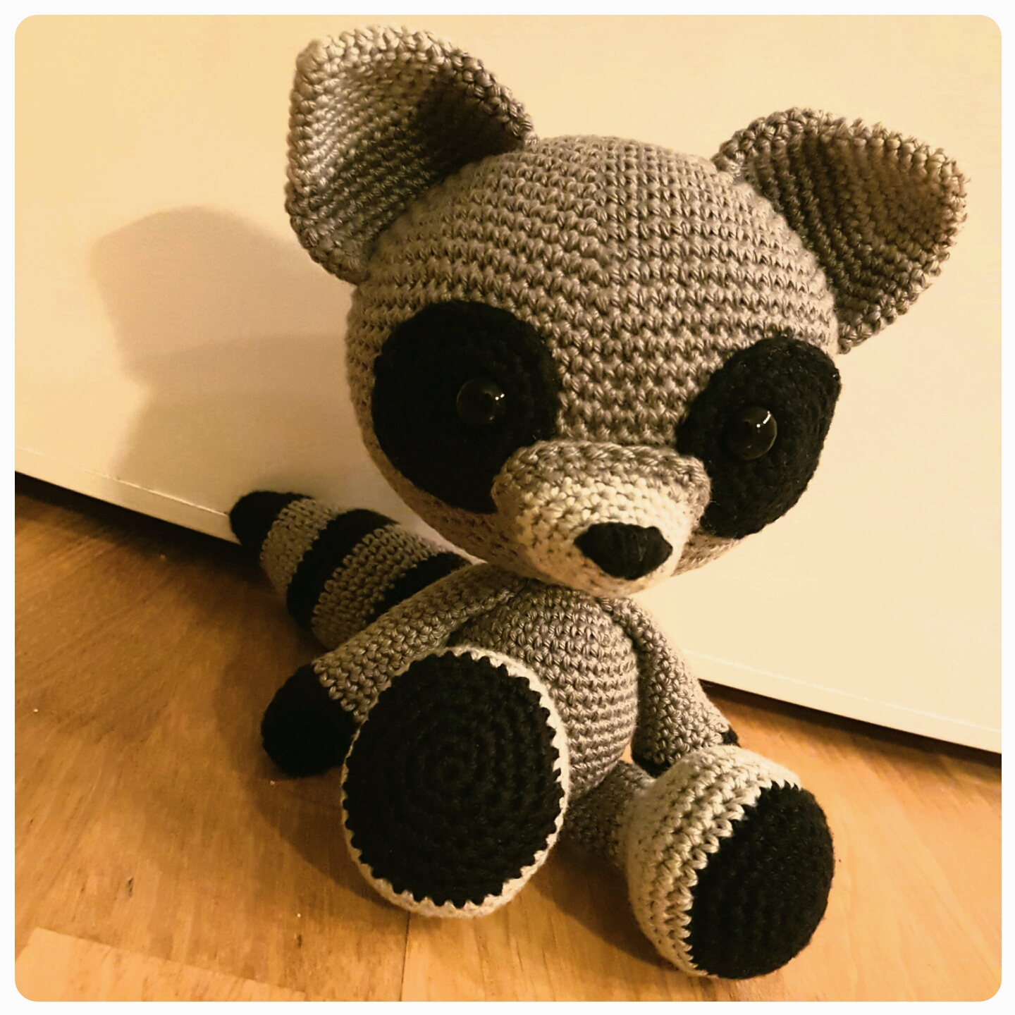 Crochet Bandit The Amigurumi Raccoon | 1440x1440