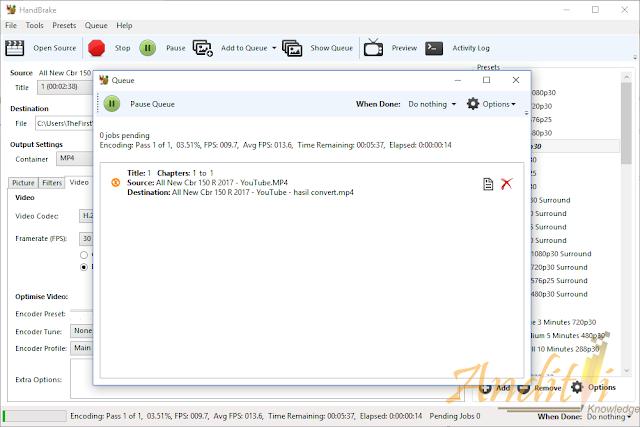 Memperkecil Ukuran File Video Menggunakan SOftware Handbreak-anditii.web.id