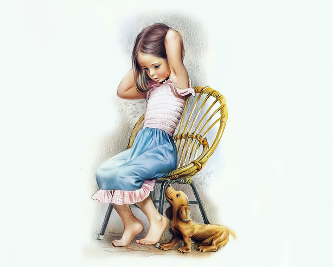 Touching hearts marcel marlier belgian artist and illustrator - Martine dessin ...
