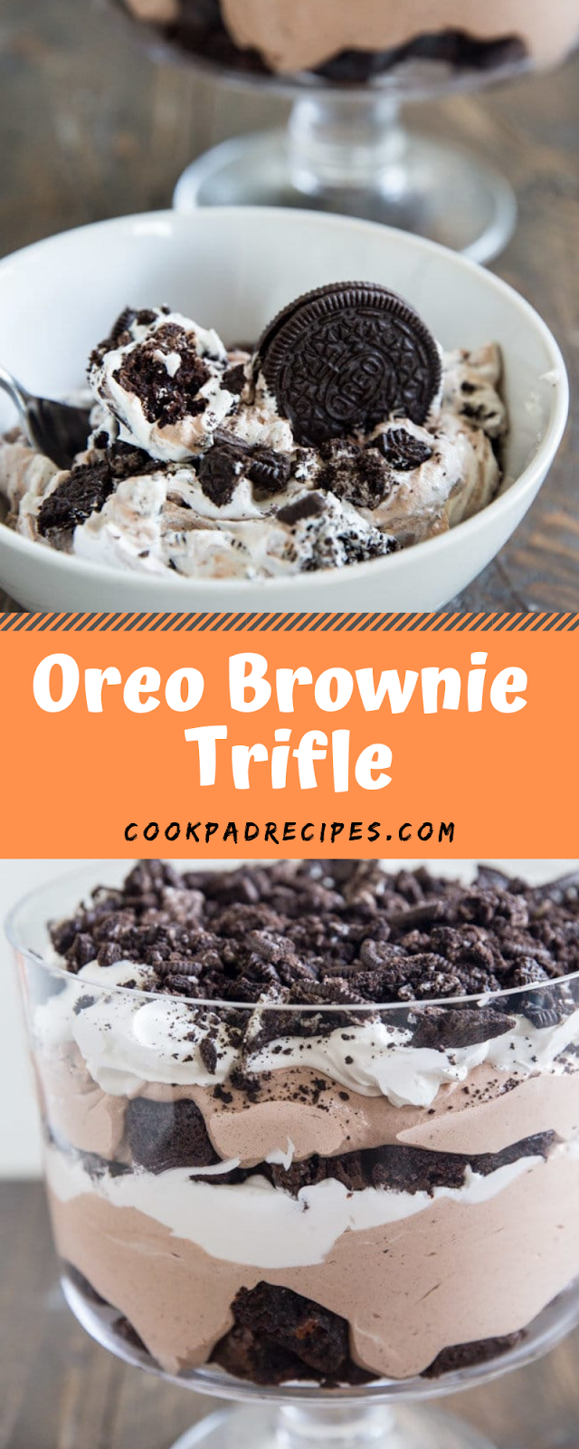 Oreo Brownie Trifle