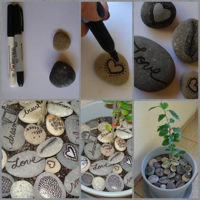 Pots With Stones 4