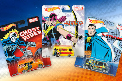 2016 Hotwheels Pop Culture Mix 3 : Marvel