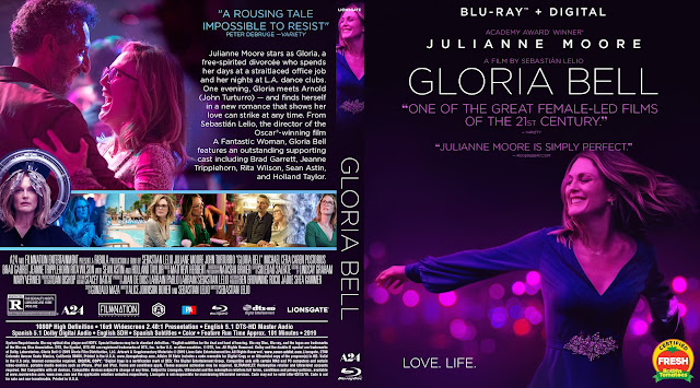 Gloria Bell Bluray Cover