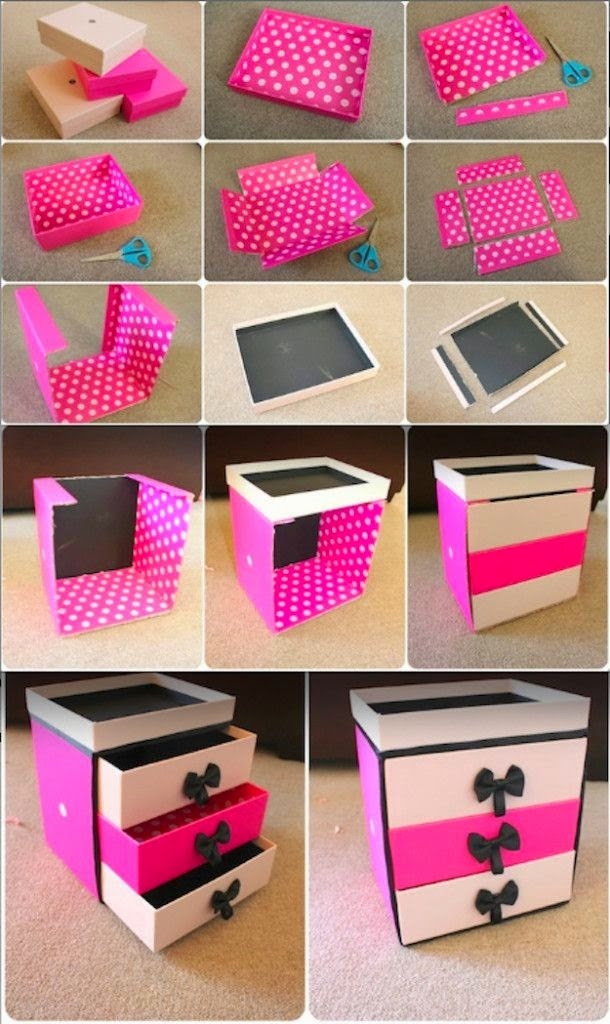 30 Shoe Box Craft Ideas: 50 Ideas To Reuse Shoe Boxes
