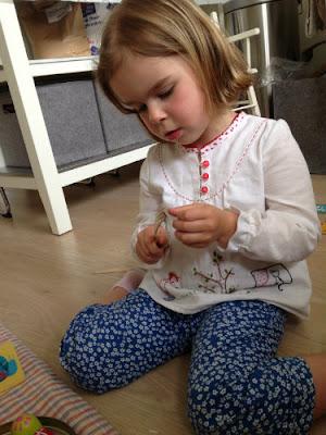 Blouse voor de naaiwedstrijd