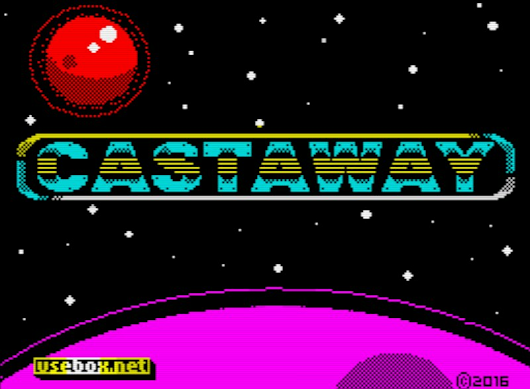 Castaway - Reidrac's latest ZX Spectrum 48K game!