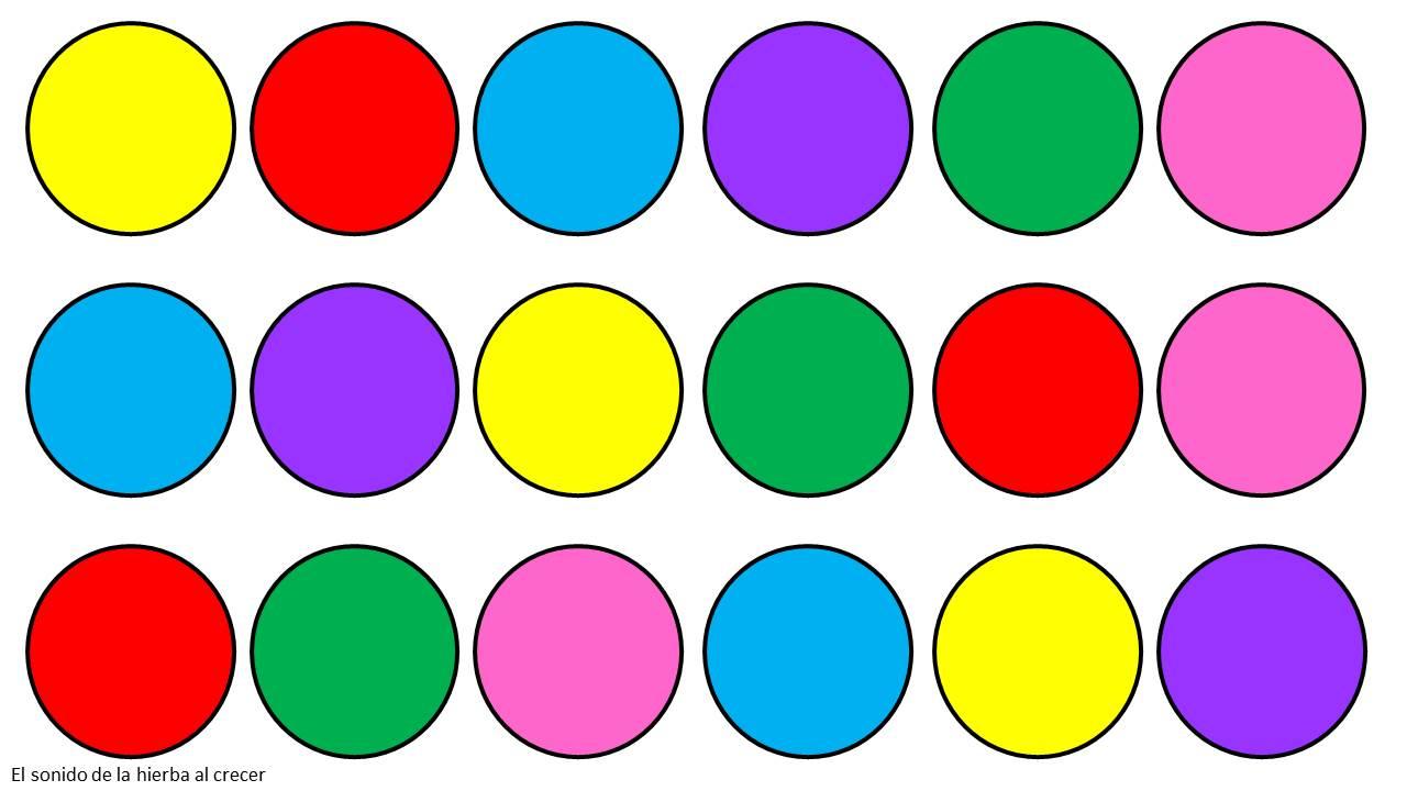 círculos coloridos: imitación de modelos :El sonido de la ...