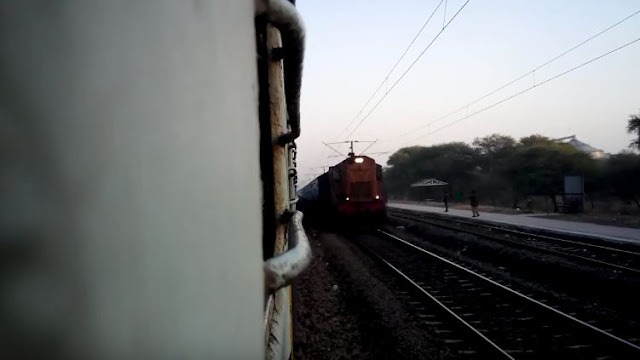 Evening View of Bhind Railway Station