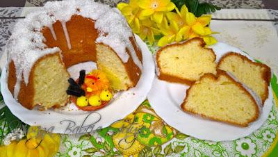 Babka Kokosowa - Ciasto Kokosowe