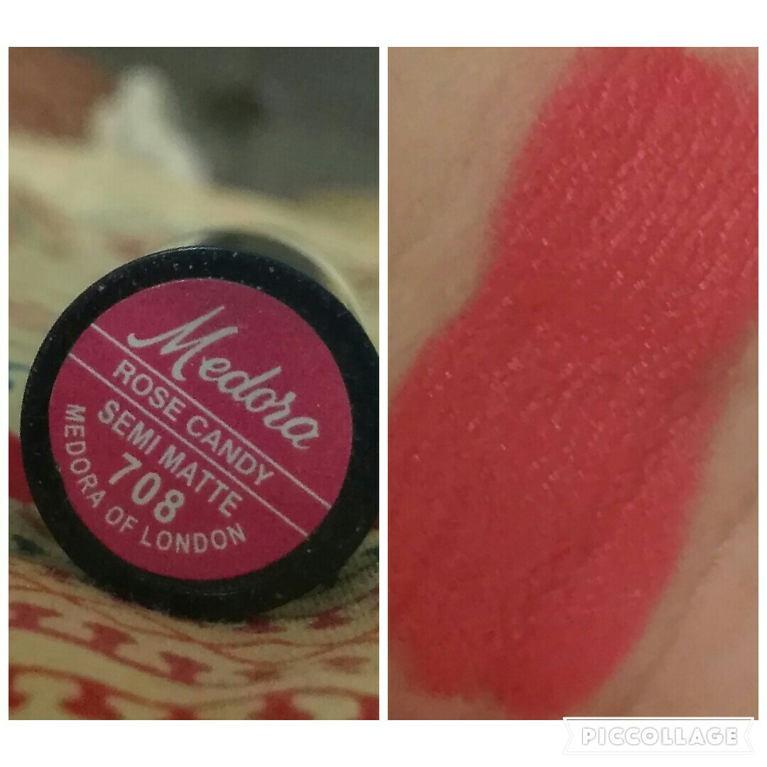 Medora lipstick red shades with numbers