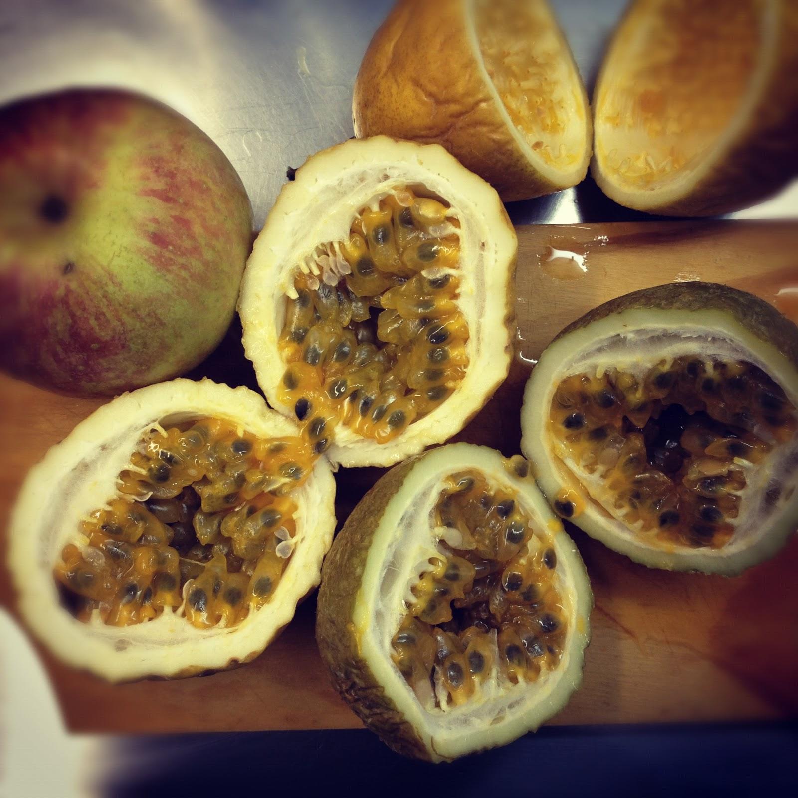Brazilian Passion Fruit Mousse Cake