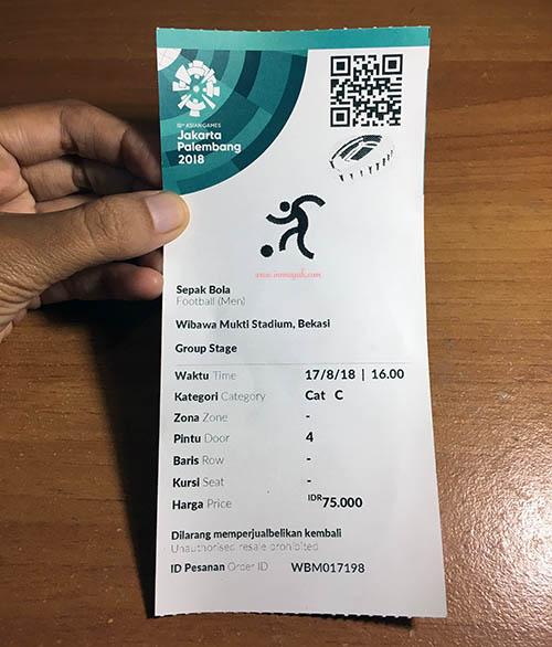 tiket asian games