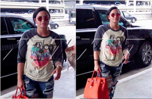 Demi Lovato Rock Concert T-shirt