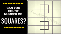 Your challenge in this picture puzzle is to count the number of squares.
