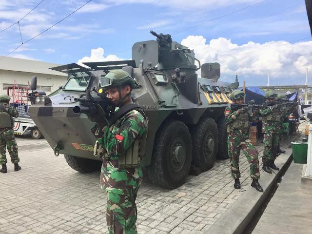 245 Prajurit TNI Amankan Bandara Mutiara Sis Al-Jufri Palu