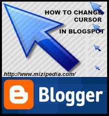 Cara Ganti Tampilan Cursor/ Mouse  Keren di Blogger