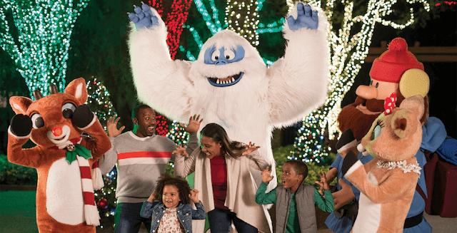 Show infantil no Natal no Busch Gardens: Christmas Town