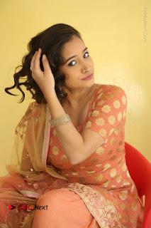 Telugu Actress Santoshi Sharma Latest Stills in Salwar Kameez at HBD Movie Teaser Launch  0090.JPG