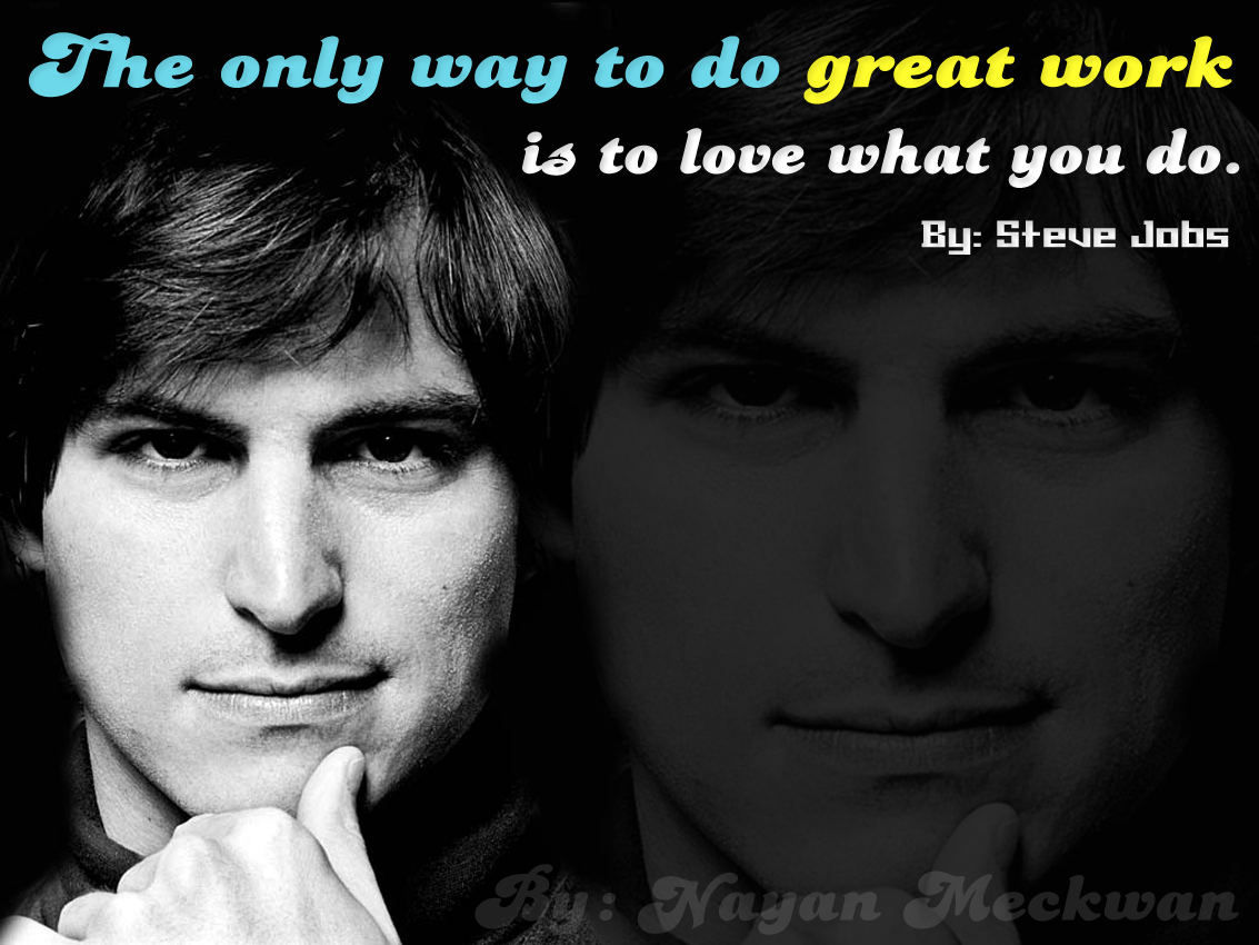 Steve Jobs Awesome Wallpaper Quote