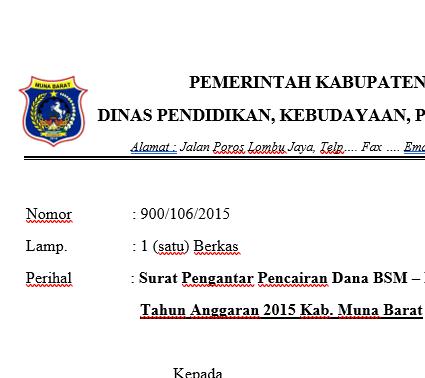 Contoh Surat Pengantar Berkas Ke Dinas Suratmenuhargacom