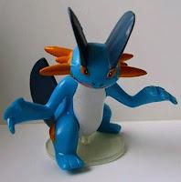 Swampert Tomy Data Carrier Pokemon Figure